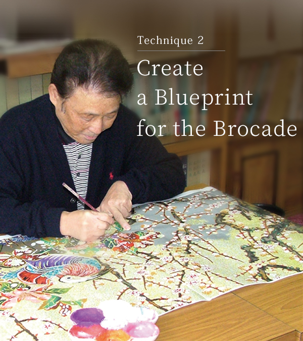 Technique 2 Create a blueprint for the brocade
