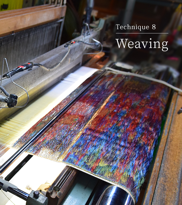 Technique 8 Weaving